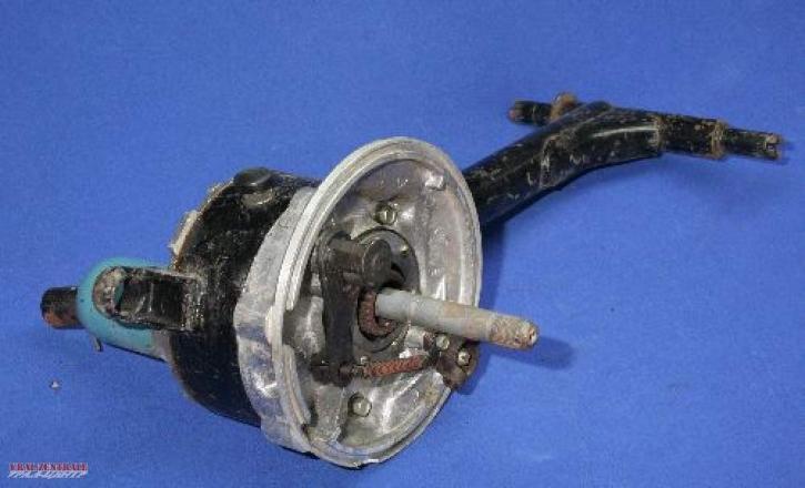 Beiwagen-Schwinge mit Antrieb und Bremse