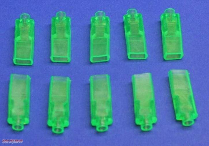 Isolierkappen für Flachsteckhülsen