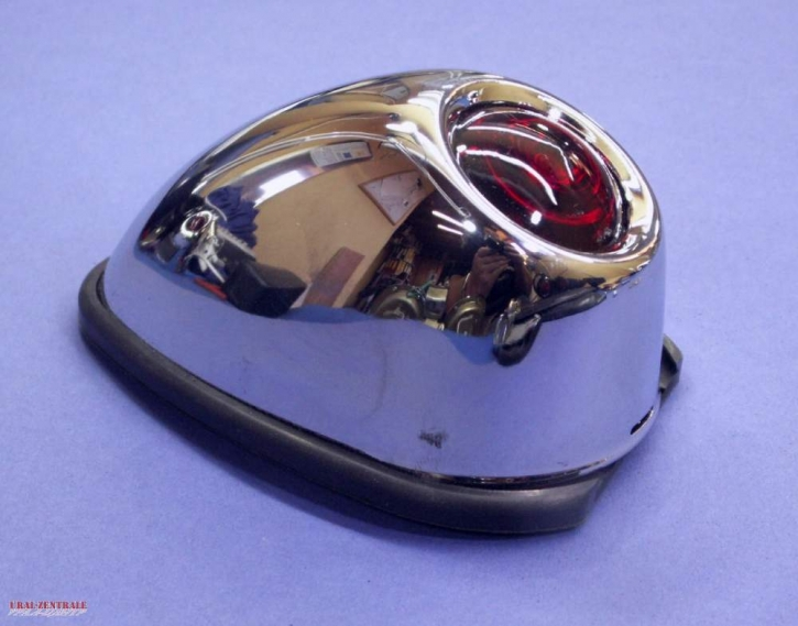 M72 tail light chrome-plated