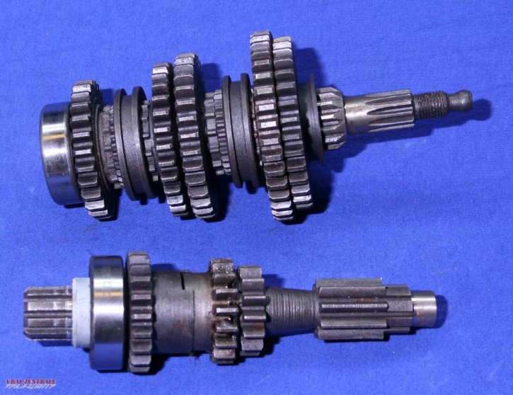 Gearbox shaft set, Dnepr