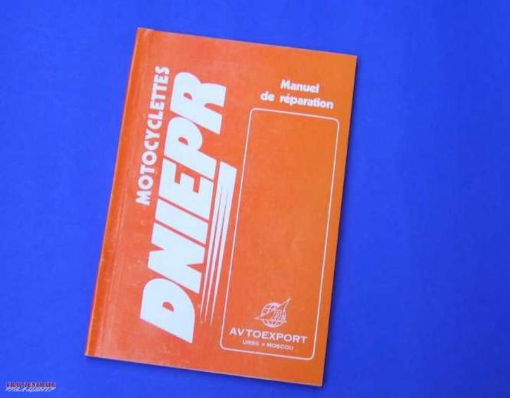 Repair manual Dnepr French 'en francais'