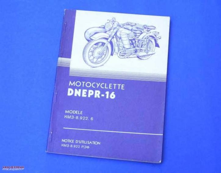 User manual MT16 French 'en francais'