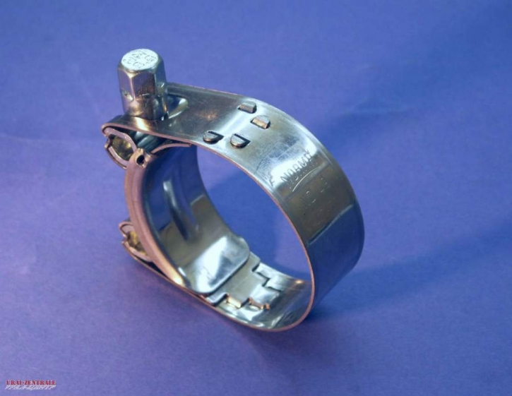 Air tube clamp  stainless steel 49 mm
