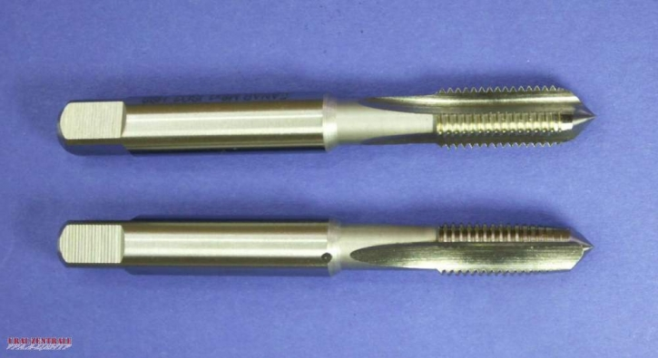 Tapping tool set M 8 x 1 fine pitch thread