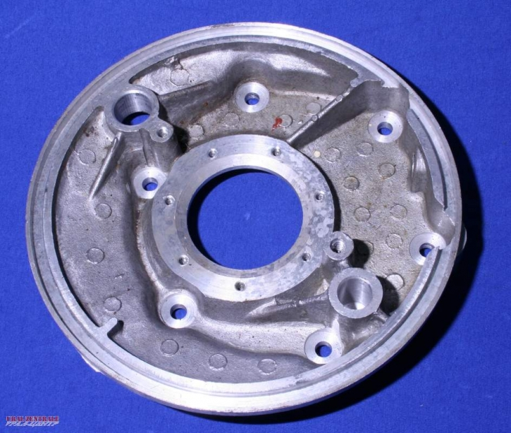 Bremsankerplatte BW-Bremse, mit Antrieb