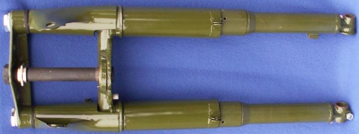Telegabel M72 komplett, militärgrün