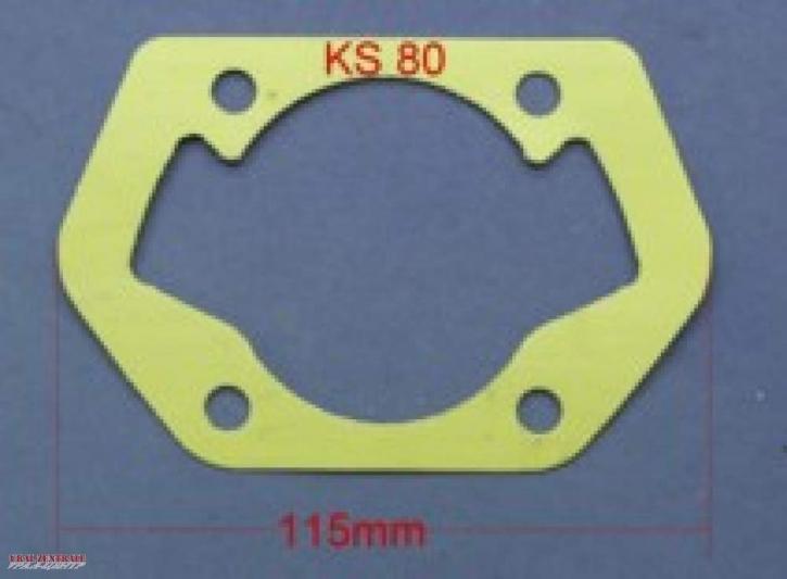 Zylinderfußdichtung für Zündapp KS80 u.v.m.