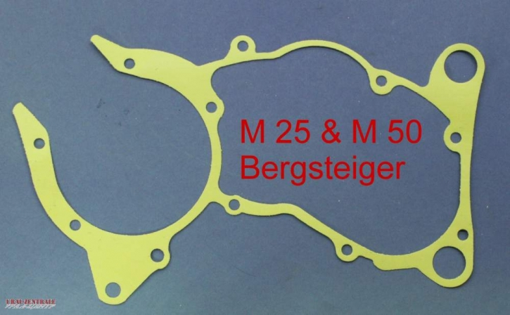 Crankcase gasket Zündapp 50cc M25/M50 Bergsteiger