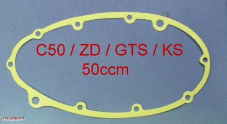 Motordichtung Gehäusedichtung kupplungsseitig Zündapp C / CS / Z