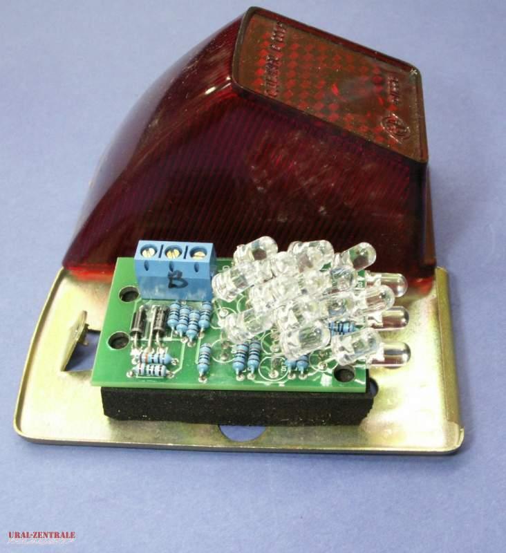 Rücklicht MT12 mit LED  6V
