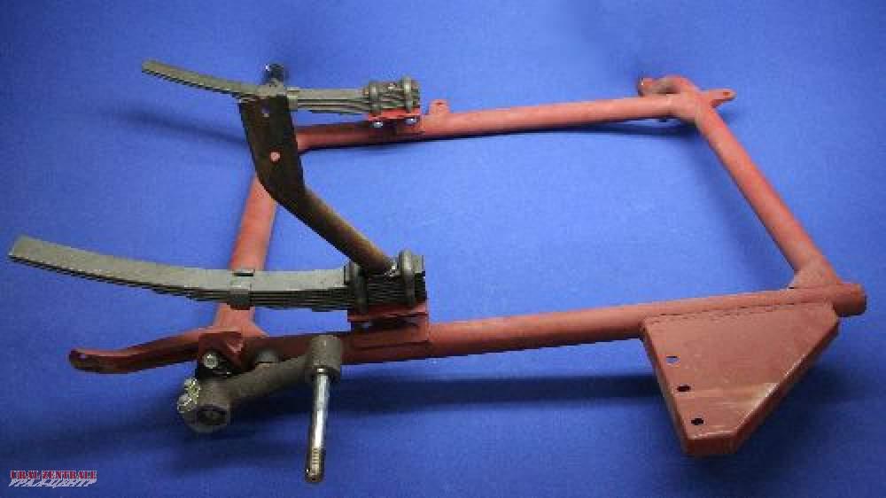 Beiwagen Rahmen M72