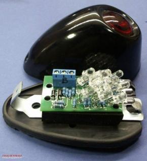 LED Einsatz für M72 Rücklicht mit Kennzeichenbel. 6 Vo