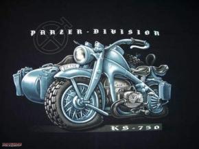 T-Shirt  Panzer -Division BUSS, Größe XXL