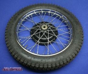 Rad M72 komplett mit Reifen 4,10x19