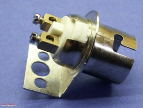 Bulb holder BA15-d (15mm)