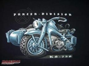T-shirt »Panzer Division«  BUSS, size XXXL