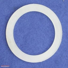 Fuel cap gasket, 100% petrol-proof, hard