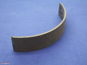Brake pads for adhesive bonding, 5 mm thick