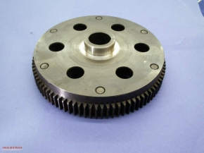 Flywheel for Dnepr engines with starter gear ring