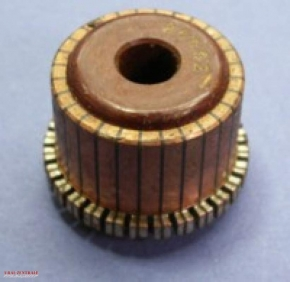Commutator for 6V rotor