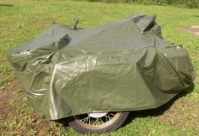 Garage Abdeckplane Gespannabdeckung Wetterschutz grün