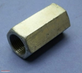 Long M18 nut with left hand thread for front wheel axle