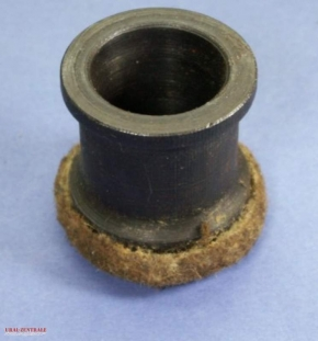 Final drive bush with felt ring seal
