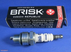 Spark plug short thread