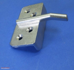 Bracket for Dnepr seat backrest stainless steel
