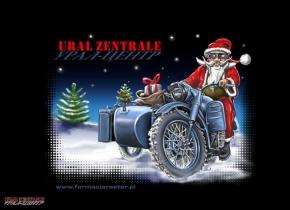 T-shirt Santa Claus, Size L
