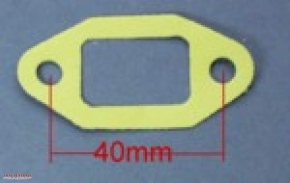Carburettor flange gasket 40 mm Zündapp etc.