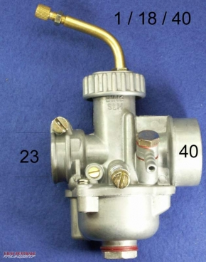 SLH carburettor 18 mm like BING