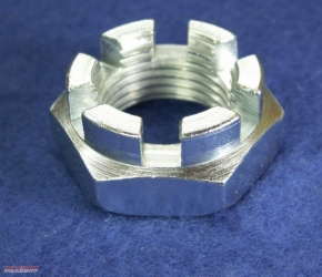 Castellated nut flat, 18 x 1.5 mm
