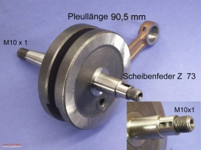 Tuning crankshaft for Zündapp M25 / M50 Bergsteiger
