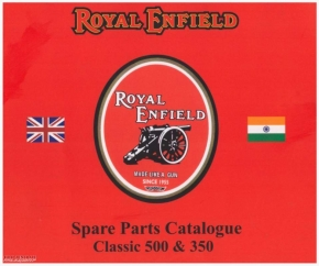 Spare parts catalog Royal Enfield Classic 350 & 500cc