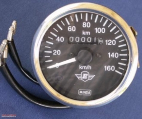 Speedometer 80 mm fixing