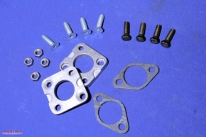 Carburettor adapter plate, set