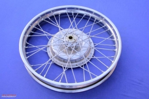 Wheel M72, chrome-plated
