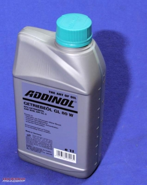 Gearbox oil SAE 80