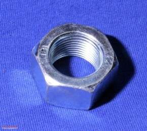 Nut M20 standard thread, zinc-coated