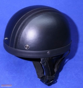 Leather helmet XL