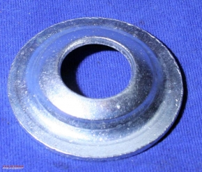 Washer spare wheel fixing