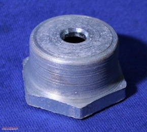 Steering stem cap nut
