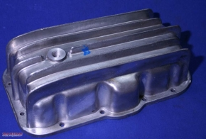 Oil pan aluminum extra large, Ural