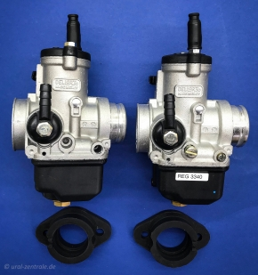 Dellorto carburettor PHBH 28 with flange