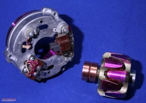Lichtmaschine 12V für Kurbelwelle