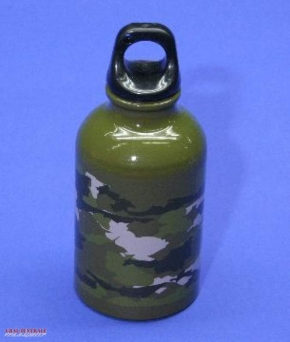 Getränkeflasche 'camouflage' Aluminium Tarnlook