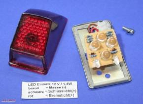 LED Rücklicht MT12 Extrem Stromsparend, 12V