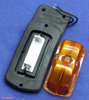 Signal light universal rubber