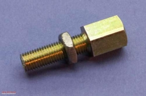 Cable adjuster M8 fine pitch thread